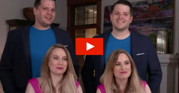 Identical Twins Married to Twins Both Pregnant at the Same Time