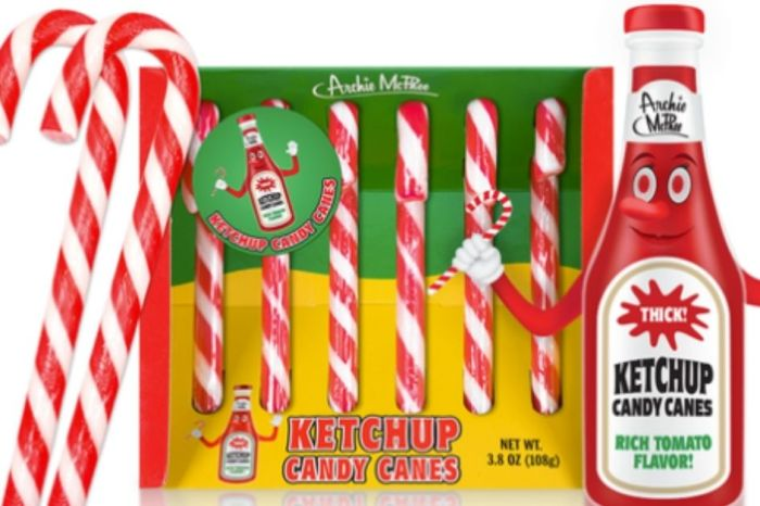 Prank Peppermint Lovers With Ketchup-Flavored Candy Canes