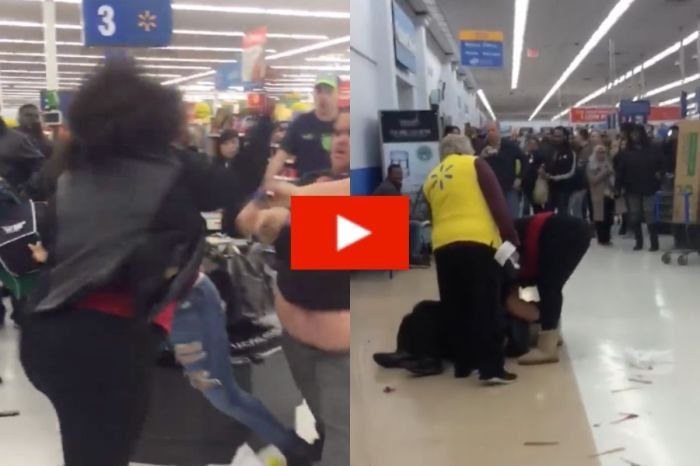 Multiple People Were Arrested After This Walmart Brawl Someone Caught on Video