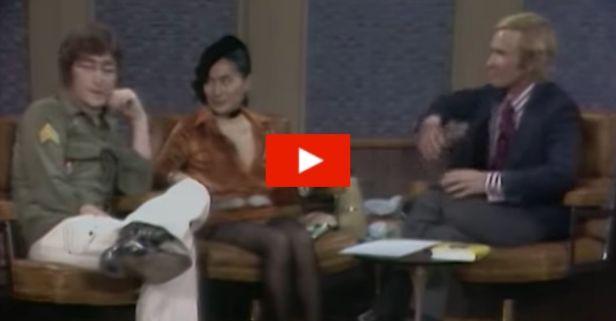 """John Lennon Explains Why The Beatles Broke Up on """"The Dick Cavett Show"""""""