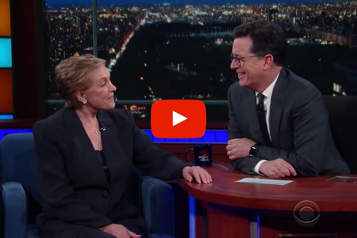 """Julie Andrews Talked About Her Near-Death Experience on the Set of """"Mary Poppins"""""""