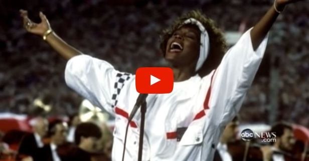 Whitney Houston's 1991 Performance of The 'Star-Spangled Banner' Still Gives Me Goosebumps