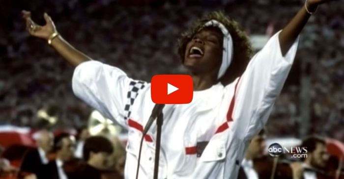 Whitney Houston's 1991 Performance of The 'Star-Spangled Banner' Still Gives Me Goosebumps