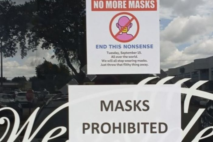Florida Bar Owner Bans Customers From Wearing Masks