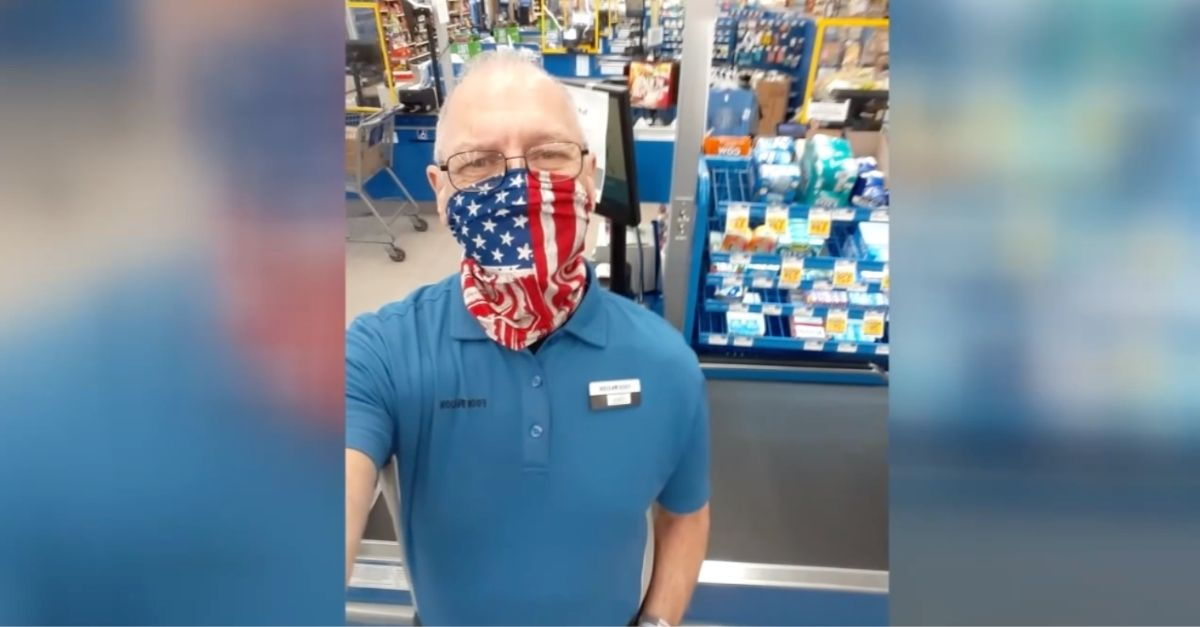 US Veteran Quits Job After Being Told He Couldn't Wear American Flag Face Covering