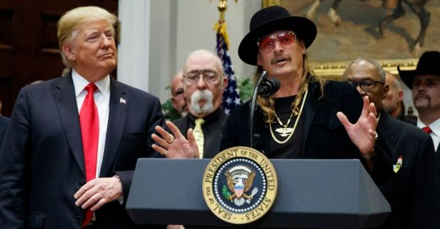 Kid Rock to Headline MAGA Rally with Donald Trump Jr.
