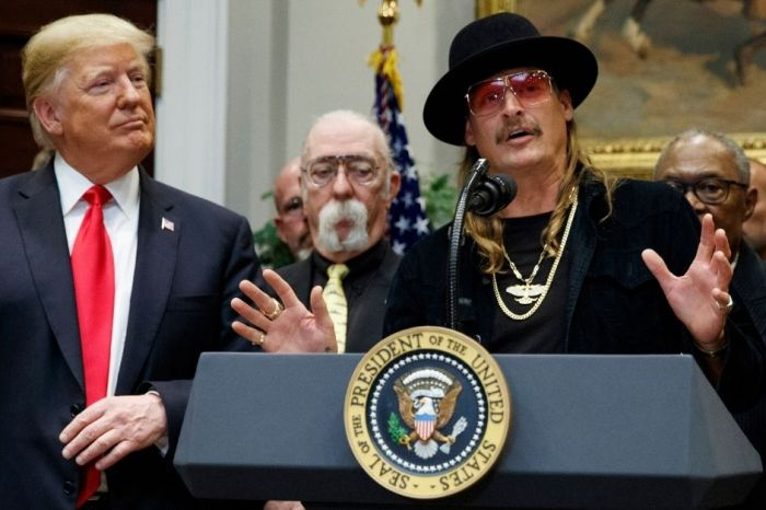 Kid Rock Shows Support For Trump After Headlining MAGA Rally