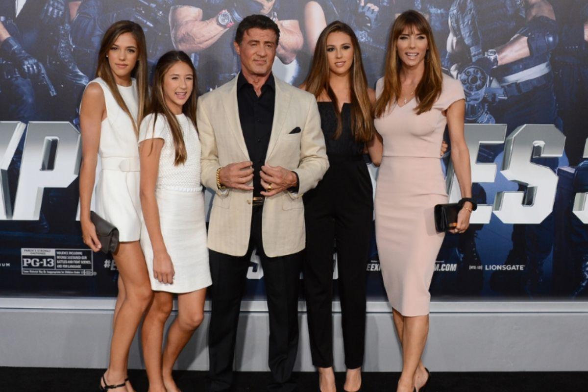 Meet Sylvester Stallone's Family