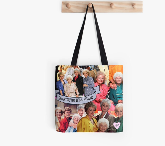 golden girls Tote Bag