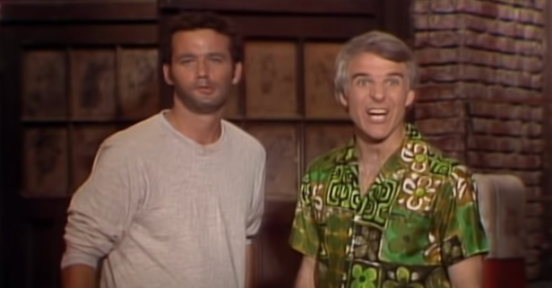 Bill Murray and Steve Martin Loved Doing 'SNL' Sketches Together