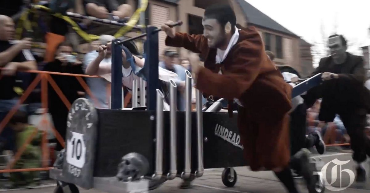 The Bizarre History Behind the Emma Crawford Coffin Races