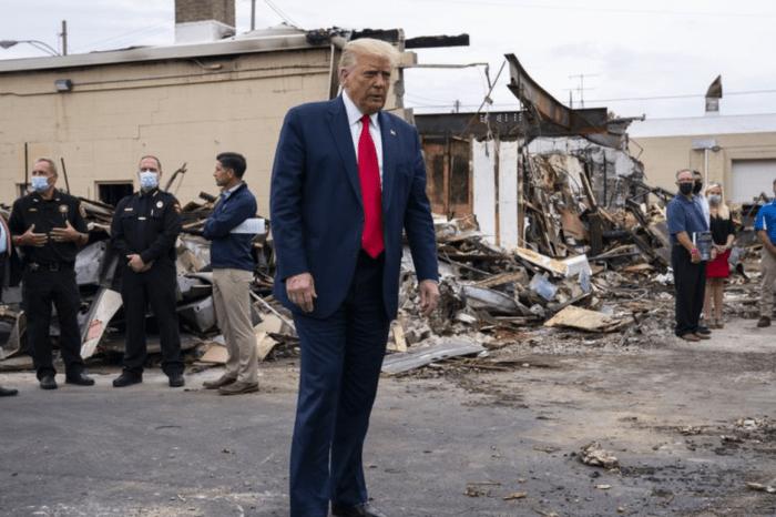 Owner of Burned Kenosha Business Accuses Trump of Misleading Public