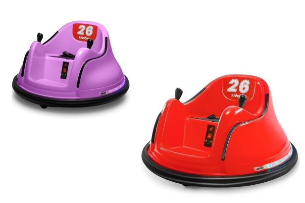 bumper cars for baby