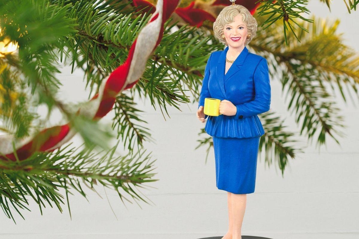 rose nylund hallmark ornament