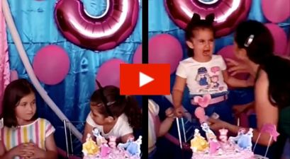 """Baby Karen"" Gets Her Hair Pulled After Blowing Out Birthday Candles Not For Her"