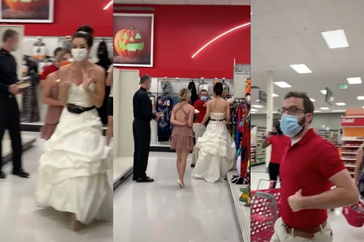 Fed-Up Bridezilla Ambushes Fiancé for Surprise Wedding at Target