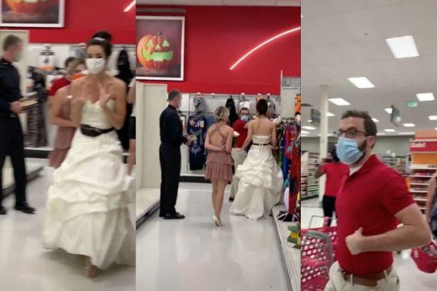 Fed-Up Bridezilla Ambushes Fiancé for Surprise Wedding at Target
