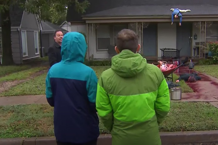 Man's Halloween Decorations So Scary the Neighbors Keep Calling the Cops