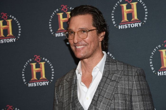 Matthew McConaughey Tells Fans to 'Embrace' 2020 Presidential Election Results 'Whichever Way it Goes'