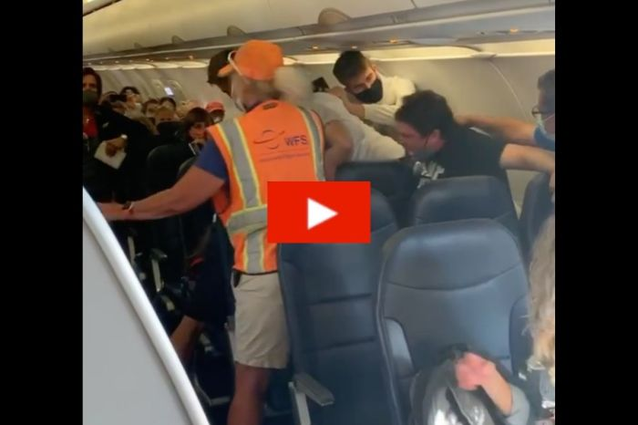 Passenger Brawl Breaks Out on Plane Over Mask Dispute