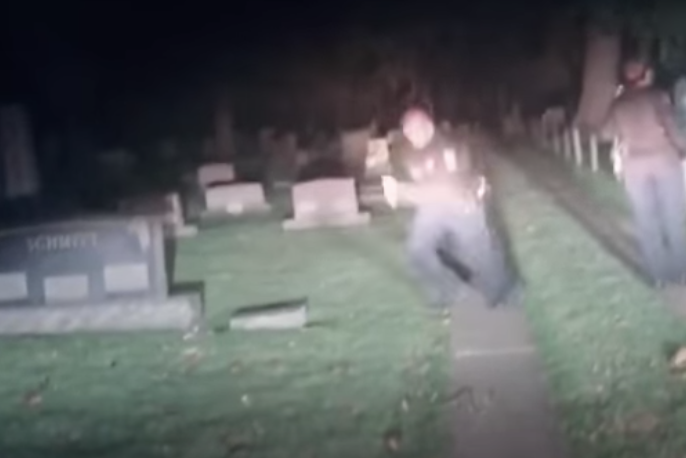 Police Graveyard Scream