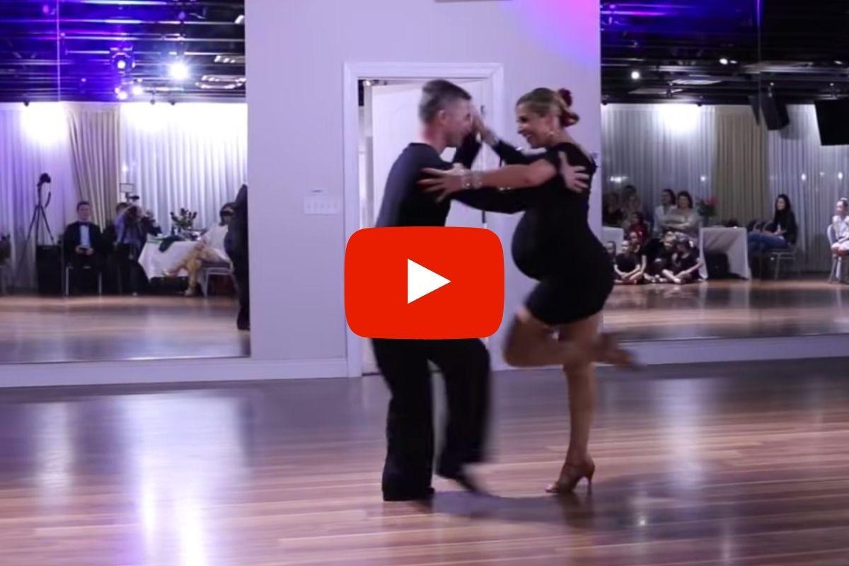 Pregnant Mama Nails Epic Salsa Dance, Goes Viral