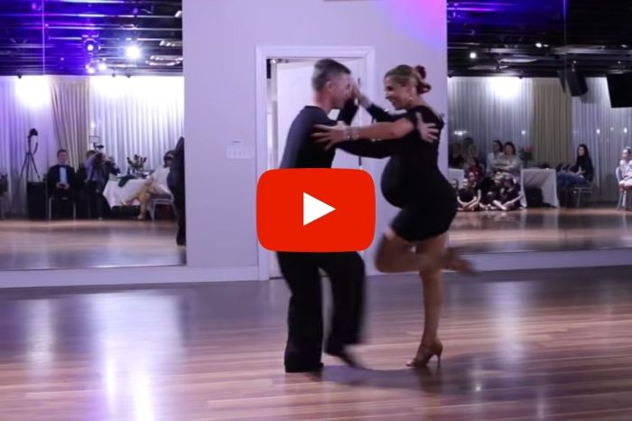 Pregnant Mama Nails Epic Salsa Dance, Goes Viral