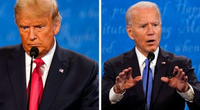 Trump, Biden Fight Over COVID-19 Rise, Climate and Race