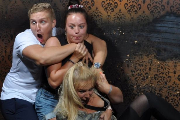 Haunted House Hilariously Captures Frightened Reactions From Visitors