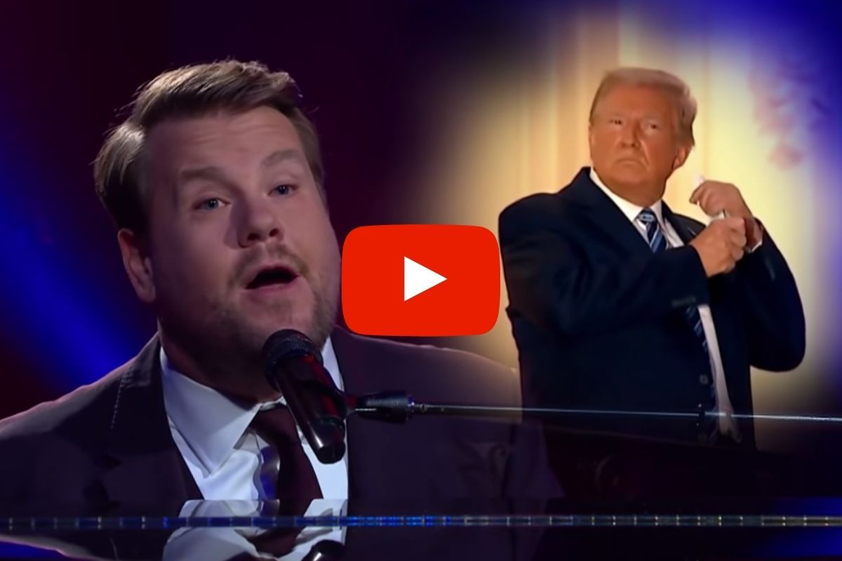 James Corden Mocks President Trump With Paul McCartney Parody Song
