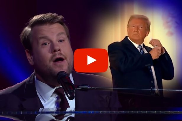 James Corden Mocks President Trump With Paul McCartney Parody Song