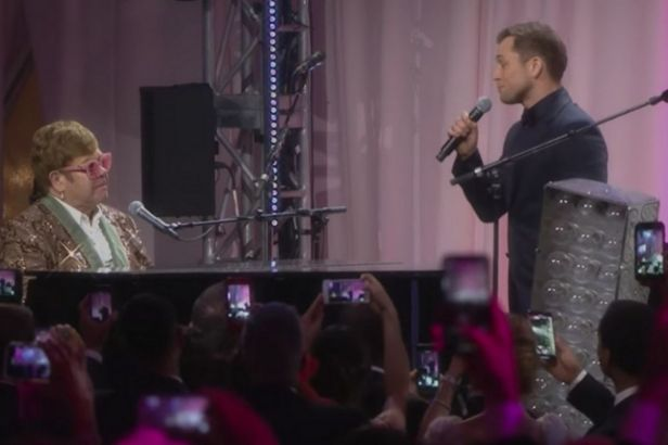 Elton John and Taron Egerton Singing 'Tiny Dancer' Is Our New Obsession