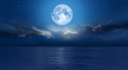 A Rare Spooky Blue Full Moon will Occur on Halloween Night 2020