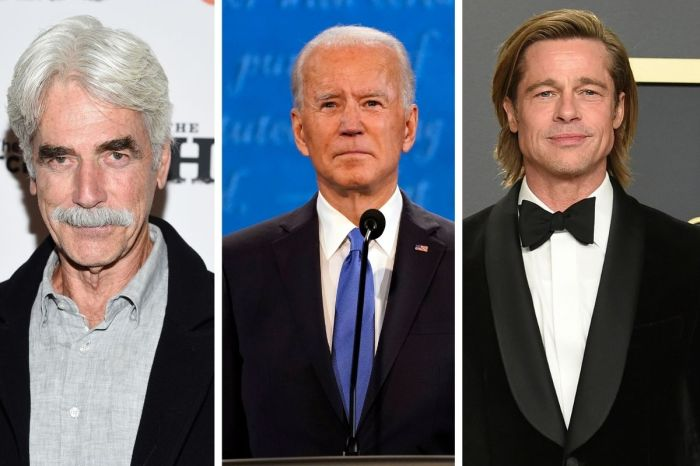Sam Elliott, Tom Hanks, Brad Pitt, Barbara Streisand and More Endorse Joe Biden