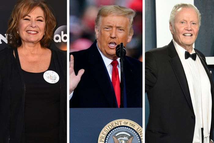 Roseanne Barr, Kid Rock, Jon Voight, Dennis Quaid and More Endorse Trump