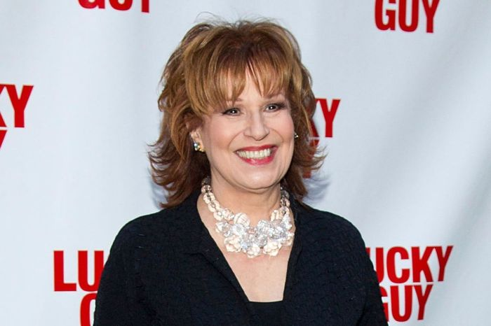 Joy Behar Met Her Husband at a 'Nudist Colony'