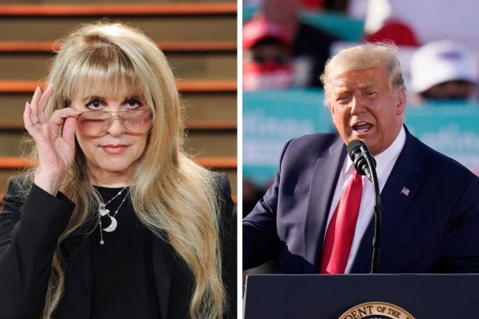 Stevie Nicks Says She'd 'Rather Live on Another Planet' if Donald Trump Wins
