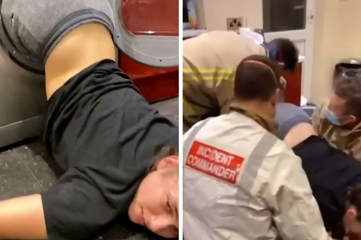 Drunk College Student Gets Stuck in Dryer, Rescued by Firefighters