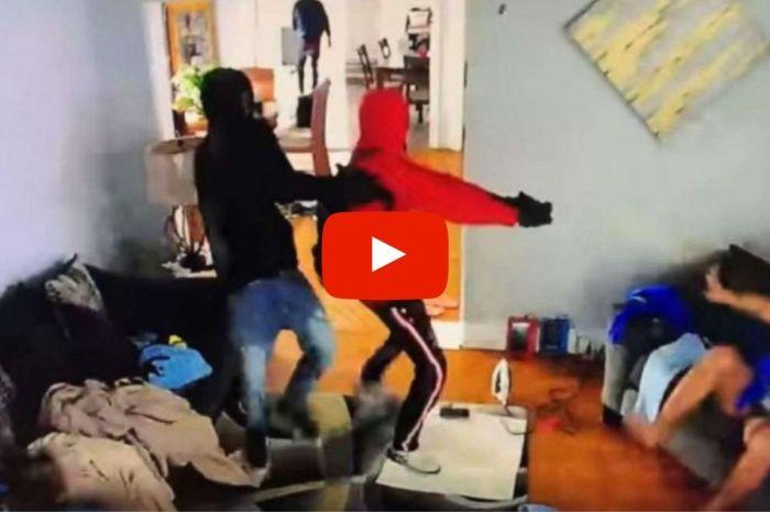 5-Year-Old Boy Caught Tackling Gunman During Home Invasion