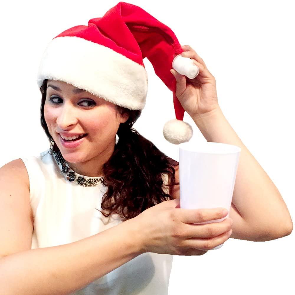 Santa Hat Flask (Red)