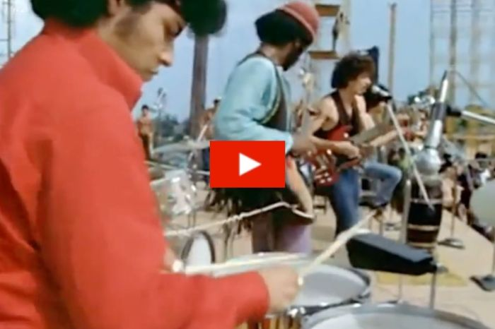 "Santana's Epic Performance of ""Soul Sacrifice"" at Woodstock Kicked Off Their Careers"