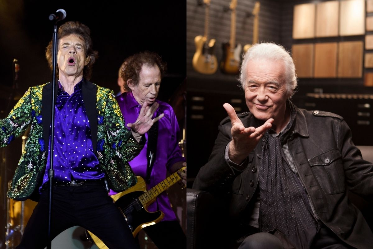 The Rolling Stones Release Unheard 1974 Track With Led Zeppelin's Guitarist Jimmy Page