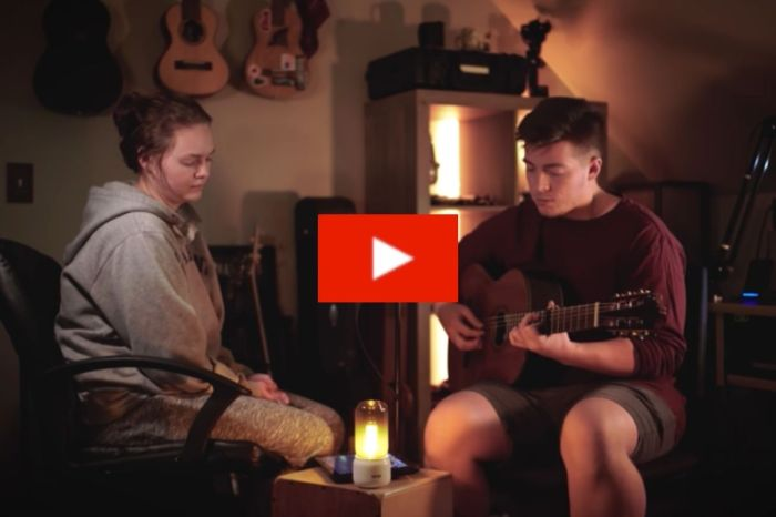 "Siblings Beautifully Capture Romance With Cover of Elton John's ""Your Song"""