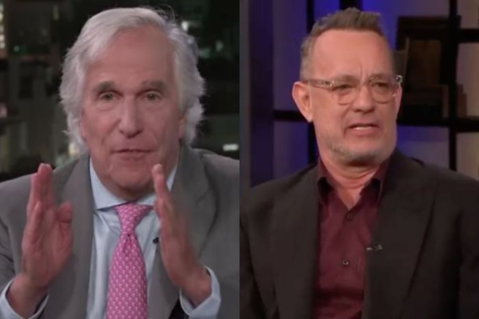 Tom Hanks and Henry Winkler Apparently Had a 30-Year Long Feud