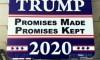 Trump Sign Razor Blades