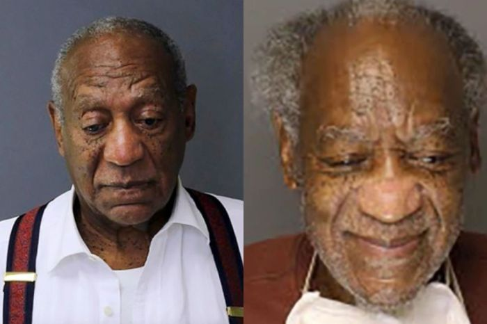 Bill Cosby Caught Eerily Smiling in His New Mugshot