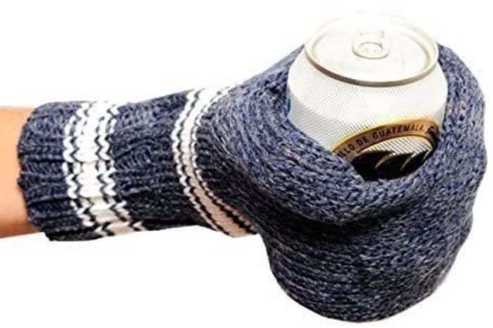 This $12 'Beer Mitt' Keeps Your Hand Warm and Beer Ice-Cold