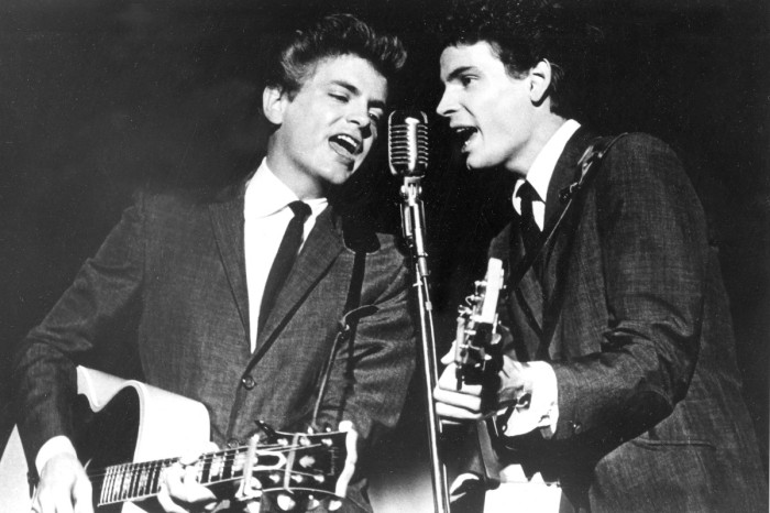 The Everly Brothers Had 35 Singles on the Billboard Hot 100 Before Their Breakup