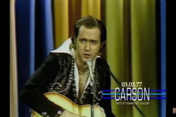 The Original Elvis Impersonator: Andy Kaufman Does Elvis Presley on Johnny Carson's 'Tonight Show'