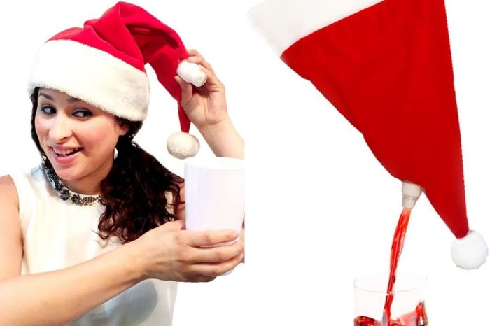 This Santa Hat Flask Will Keep Holiday Parties Interesting